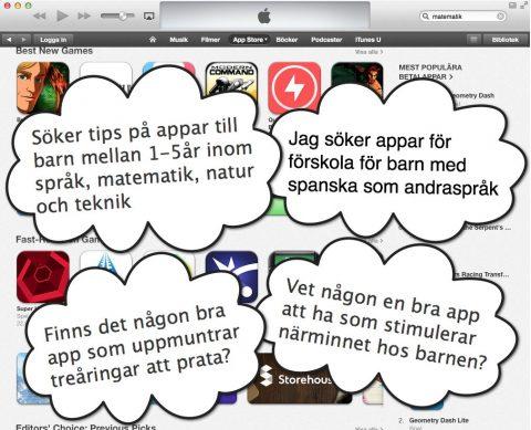 App Store vs Förskola