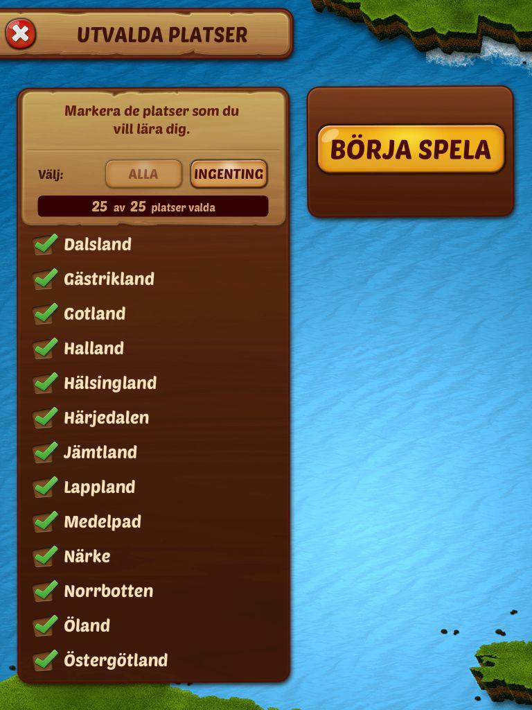 Karta Over Sveriges 25 Landskap.Geoflyg Sverige Styr Flygplan Och Trana Pa Svenska Lan Landskap