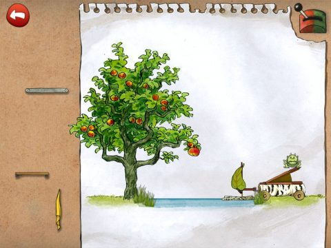 Hjälp Mucklan att få ett äpple